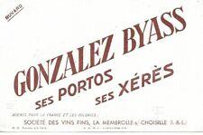 BUVARD 136114 PORTO XERES GONZALEZ BYASS LA MEMBROLLE*02