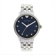 Orologio Solo Tempo Donna Armani AR1653 Cassa e Cinturino Acciaio Quadrante Blu