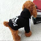 Cute Casual Winter Warm Jacket Coat Adidog Pet Clothes Hoodie Clothing Small Dog