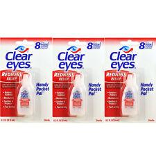 Clear Eyes Soulagement Dès rougeurs Paquet 4 0.2 ml (6 Ml) - pratique