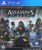 Assassin's Creed: Syndicate Special Edition (PS4, 2015) Russian,English version