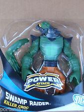 DC Universe Power Attack SWAMP RAIDER KILLER CROC Loose 6 Inches