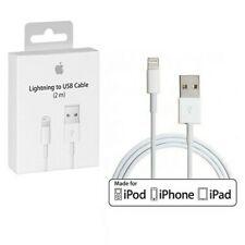 Cable USB Lightning Rápida Cargador Original para iPhone, IPod, IPad
