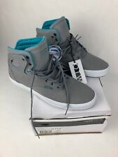 Vans Bushwick Reflective Gray / White Men's OTW Hi Top Skate Shoes Size 11.5