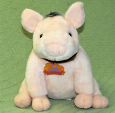 "1990s BABE & Friends PLUSH STUFFED PIG 10"" Universal Toy Works Vintage Animal"