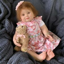 TODDLER Reborn Baby GIRL Doll ISABELLA was Juan COMPLETED DOLL 28 Inch