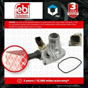 Coolant Thermostat fits OPEL COMBO B05 1.4 2012 on A14FP 055202176 1338271 Febi