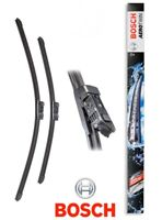 Car Window Flat Wiper Blade Set 600mm 475mm Bosch 3397007860 Aerotwin A860S