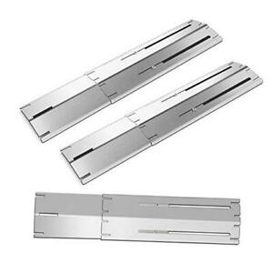 Grill Heat Plates Shield Burner Covers BBQ Gas Grill Replacement Parts, 3