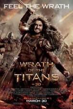 WRATH OF THE TITANS Movie Promo POSTER F Sam Worthington Liam Neeson
