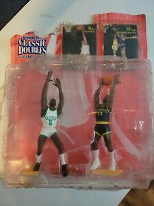 1997 Starting Lineup Classic Doubles - Bill Russell & Wilt Chamberlain - NBA