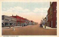 Postcard Lake Street in Chisholm, Minnesota~123322