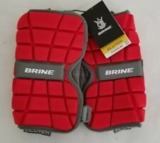 Brine Clutch Ap Lacrosse Field Hockey Midfield Red Large Arm Pads