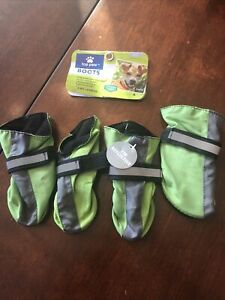 Top Paw Dog Boots - Reflective - Small - NWT (detached)