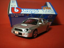 1/43 Subaru Impreza WRX STi 2002 / 2003 Burago 11333 Made in China