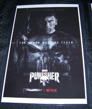 The Punisher 11X17 Netflix TV Poster Jon Bernthal #2