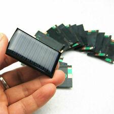 10Pcs/Lot 5V 30mA Micro Mini Pequeño panel células solares de alimentación 53X30mm para hágalo usted mismo TOY L