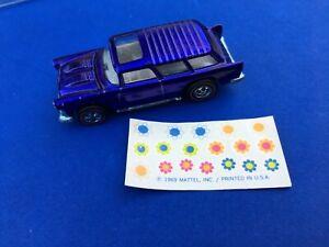 Hot Wheels Redline Nomad, purple spectraflame mattel us redlines car