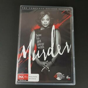How To Get Away With Murder The Complete Second Season 2 DVD