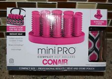 Conair Instant Heat  Mini Hot Rollers Kit Hair Travel Size