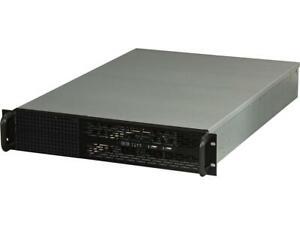 "NORCO RPC-270 Black 2U Rackmount Server Case 2 External 5.25"" Drive Bays"