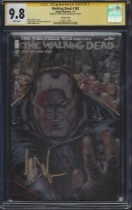 Walking Dead #162 Negan variant cover__CGC 9.8 SS__Signed by Jeffrey Dean Morgan