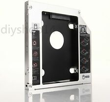 SATA 2nd HDD SSD Hard Drive Caddy Bay for Dell Inspiron 1440 1545 1564 1750 1764