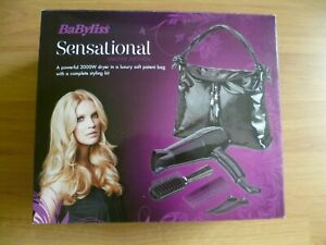 BABYLISS SENSATIONAL HAIR DRYER WITH SOFT BAG LIMITED EDITION