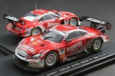 Ebbro 1:43 Scale 2007 Bandai Dunlop Toyota Lexus TRD SC430 Super GT 500 Diecast