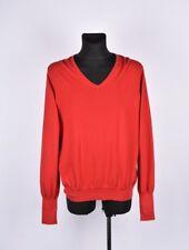 Hugo Boss Sacor V-Neck Red Label Men Sweater Size 2XL, Genuine