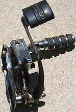 Used Front Backing Plate & Chrome Master Cylinder Brake Arm & Foot Peg (U-149)