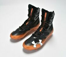 Under Armour Ua Highlight Mc 3 Men's Size 10 Football Cleats Orange 3000177-011