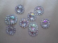Clear Cardmaking & Scrapbooking Buttons