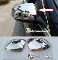 Chrom Spiegelkappen Spiegel Blenden ABS Mercedes V 250 ab 2014 mit Blinker model