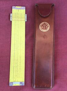 Pickett All Metal Slide Rule Model N3-Es With Leather Case.