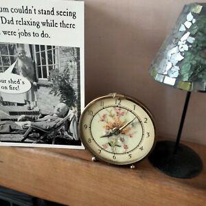 Vintage dressing table Petit Point clock