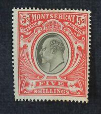 CKStamps: GB Montserrat Stamps Collection Scott#21 Mint H OG Signed
