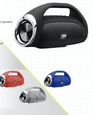 ZONE ONE Portable Wireless bluetooth Speaker Stereo Radio TWS FM SD AUX USB