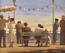 Jack Vettriano box canvas - The Pier
