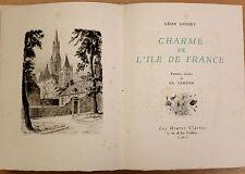 LÉON GOSSET CHARME DE L'ILE DE FRANCE 19 POINTES SÈCHES DE SAMSON 1954