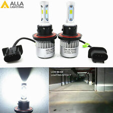 H13 8000LM 6500K 9008 LED Headlight White Conversion High Low Beam Bulb Lamp US
