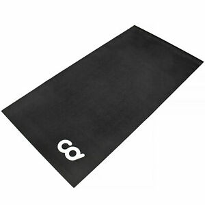 Bicycle Trainer Spin Bike Floor Mat Indoor Cycle Exercise Equipment Gym Flooring