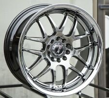 XXR526 17X9 5x100/114.3 +35 Chromium Black Aggressiv Fits Accord Rsx Tsx Tiburon