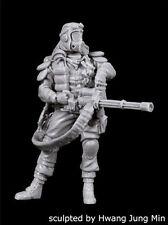 "Black Dog 1/35 Stalker No.1 ""Grinder"" with Minigun Apocalyptic Chernobyl F35170"