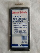 3 Card Screwdown Holder Triple Display - Ultimate Collection