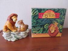 RARE Disney Schmid LION KING - MUFASA, SARABI & SIMBA MUSIC BOX - Boxed