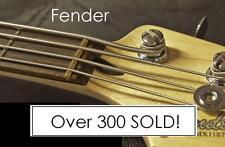 GeetarGizmos FREE SHIP Brass Nut made for Fender JAZZ Bass Guitar