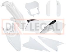 Wr250r/Wr250x Plastics Kit OEM White Fairings 2008 - 2018 2010 2011 2012 2013