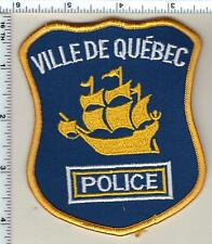 Ville de Quebec Police (Canada) Shoulder Patch from 1997