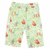 Tommy Bahama Silk Bermuda Shorts Summer Drink Print Size 6 Golf Walking